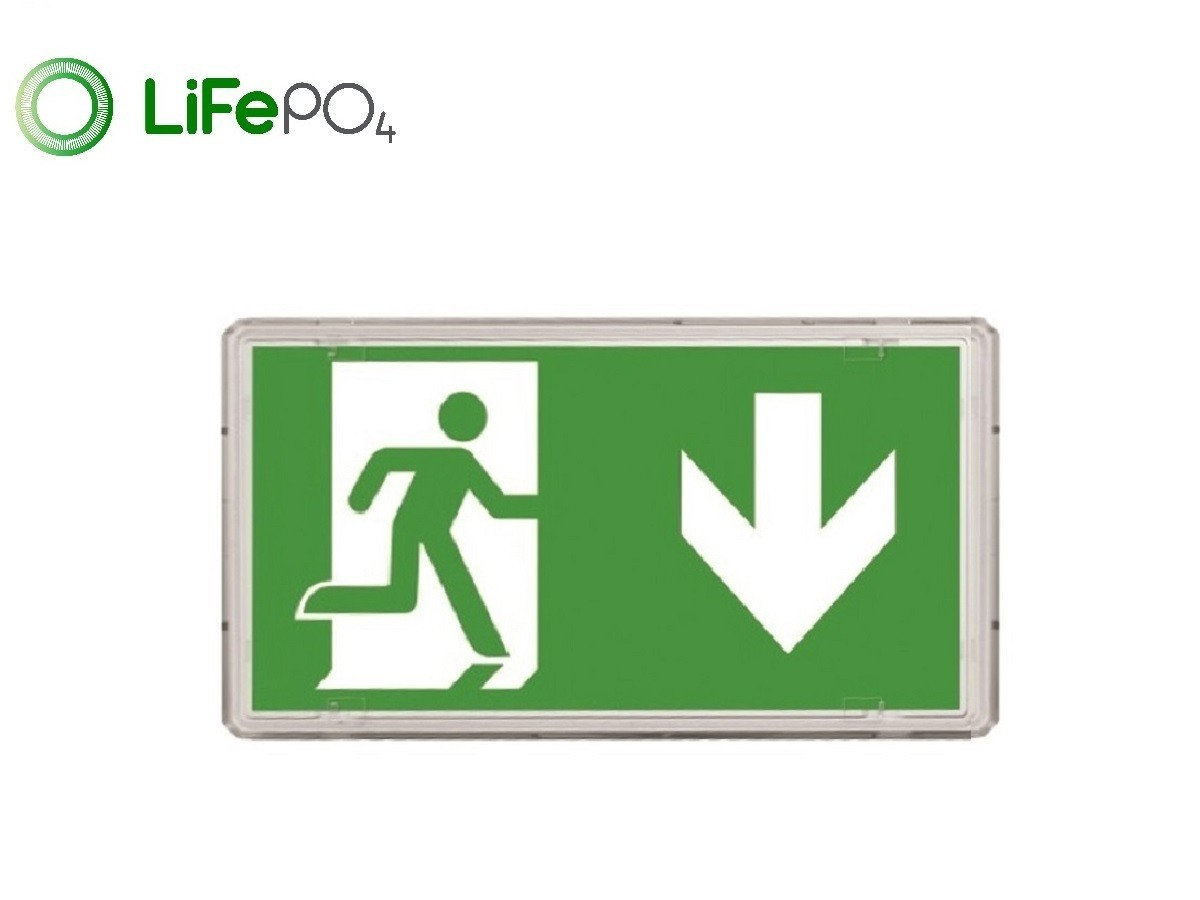 CE5S/3W - IP65 Exit Sign
